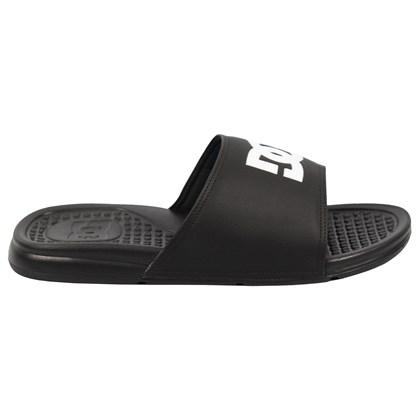 Chinelo DC Shoes Slider Bolsa LA Black