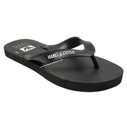 Chinelo Hang Loose Plus Preto