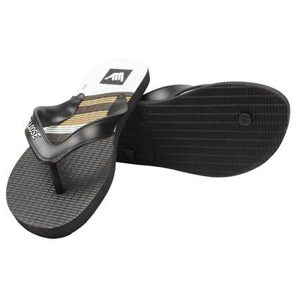 Chinelo Hang Loose Plus Preto e Branco