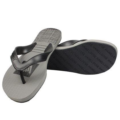 Chinelo Hang Loose Plus Supra Cinza