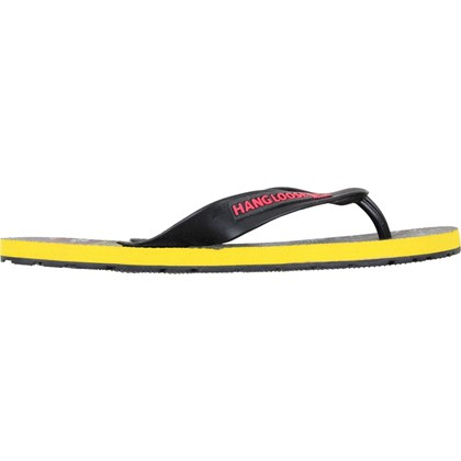 Chinelo Hang Loose Plus TR Preto e Amarelo