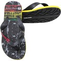 Chinelo Hang Loose Plus TR Preto e Amarelo