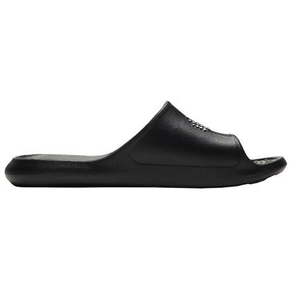 Chinelo Nike Victori One Shower Slide Black White Feminino