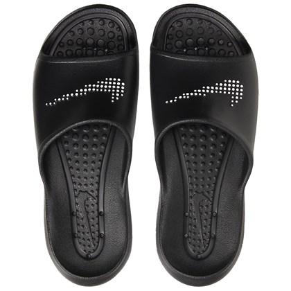 Chinelo Nike Victori One Shower Slide Black White Masculino