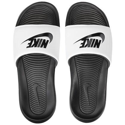 Chinelo Nike Victori One Slide Black Black White