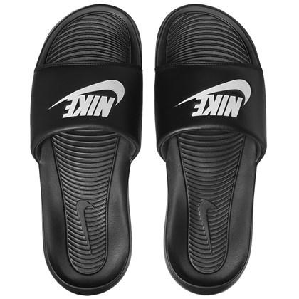 Chinelo Nike Victori One Slide Black White