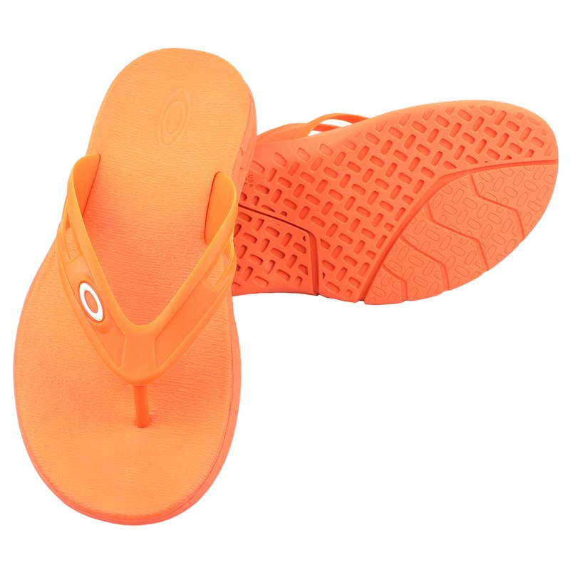 Chinelo Oakley Rest 2.0 Neon Orange