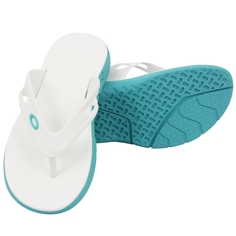 Chinelo Oakley Rest 2.0 Turquoise