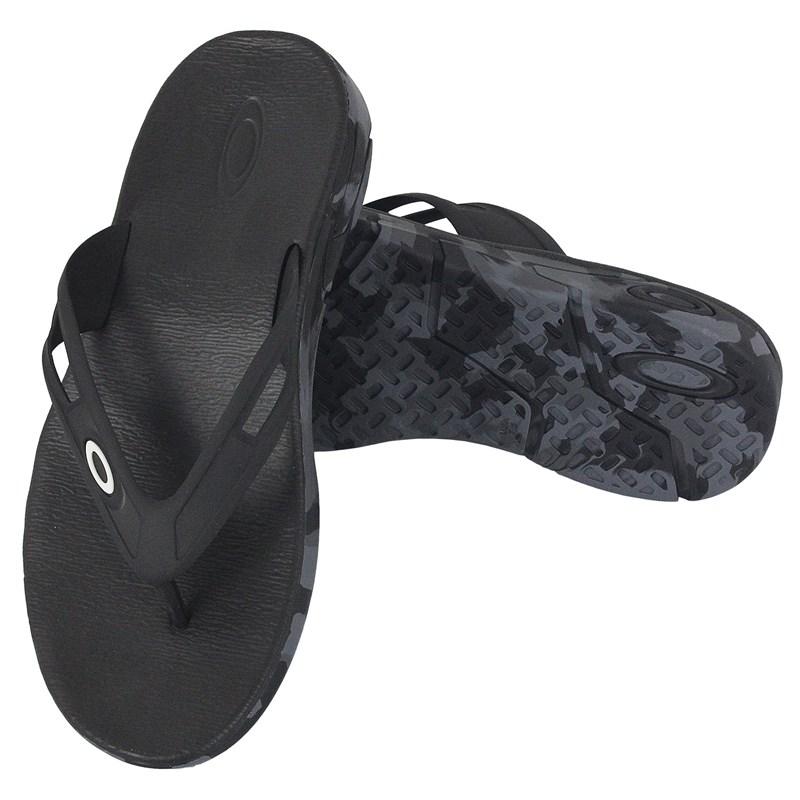 Chinelo Oakley Rest Camo Black Camo