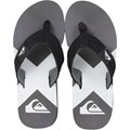 Chinelo Quiksilver Foundation Remix Preto