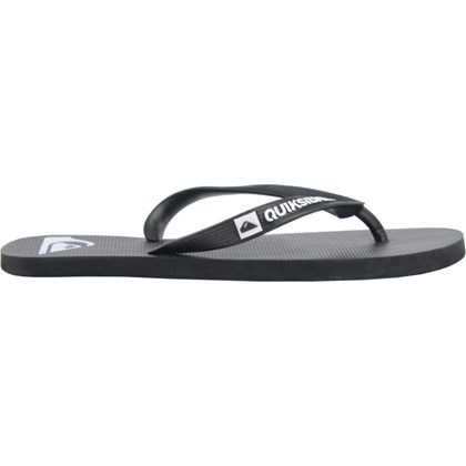 Chinelo Quiksilver Molokai Basic Black White