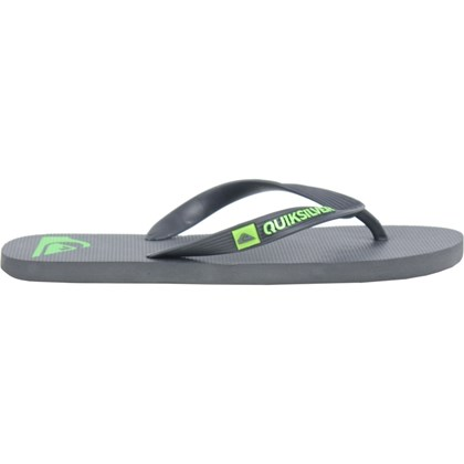 Chinelo Quiksilver Molokai Basic Grey Green