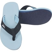 Chinelo Quiksilver Molokai Layback Light Blue