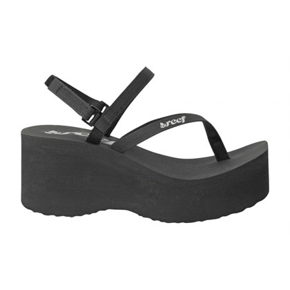 CHINELO REEF CONVERTIBLE ALLURE FEMININO PRETO