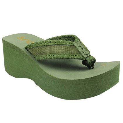 CHINELO REEF LIV SCREEN FEMININO OLIVE