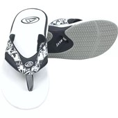 Chinelo Reef Mick Fanning C/ Exclusivo Abridor de Garrafas White Picture