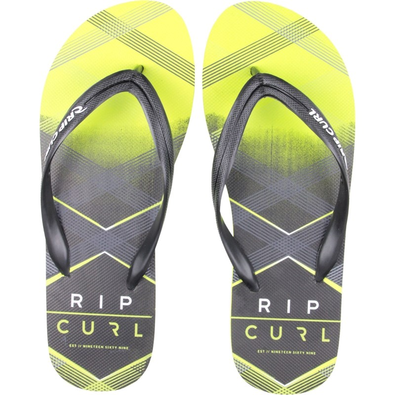 Chinelo Rip Curl Check Yourself Lime