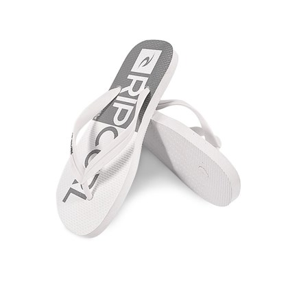 Chinelo Rip Curl Half White Grey