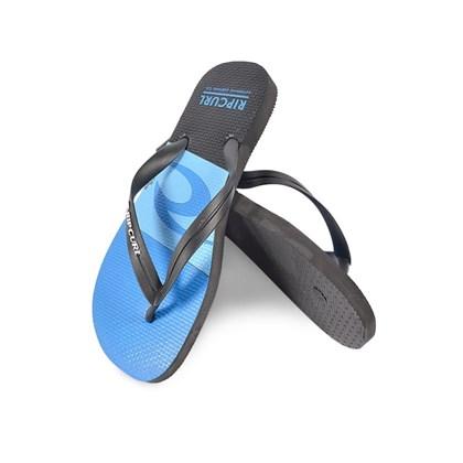 Chinelo Rip Curl Icon Black Blue