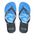 Chinelo Rip Curl Icon Black Blue