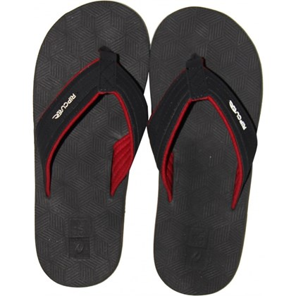 CHINELO RIP CURL MICK FANNING FOLSON BLACK RED IMPORTADO