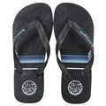 Chinelo Rip Curl Stacked Logo Blue