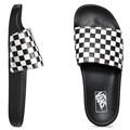 Chinelo Vans Slide On Checkerboard Black White