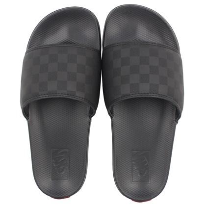 Chinelo Vans Slide On La Costa Black Black