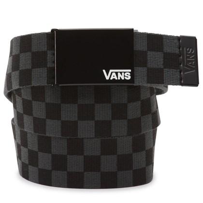 Cinto Vans Deppster II Web Black Charcoal