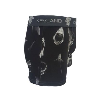 Cueca Boxer Kevland Dark Sharks