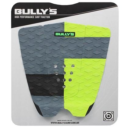 Deck Antiderrapante Bully's Dreams Preto Verde e Cinza