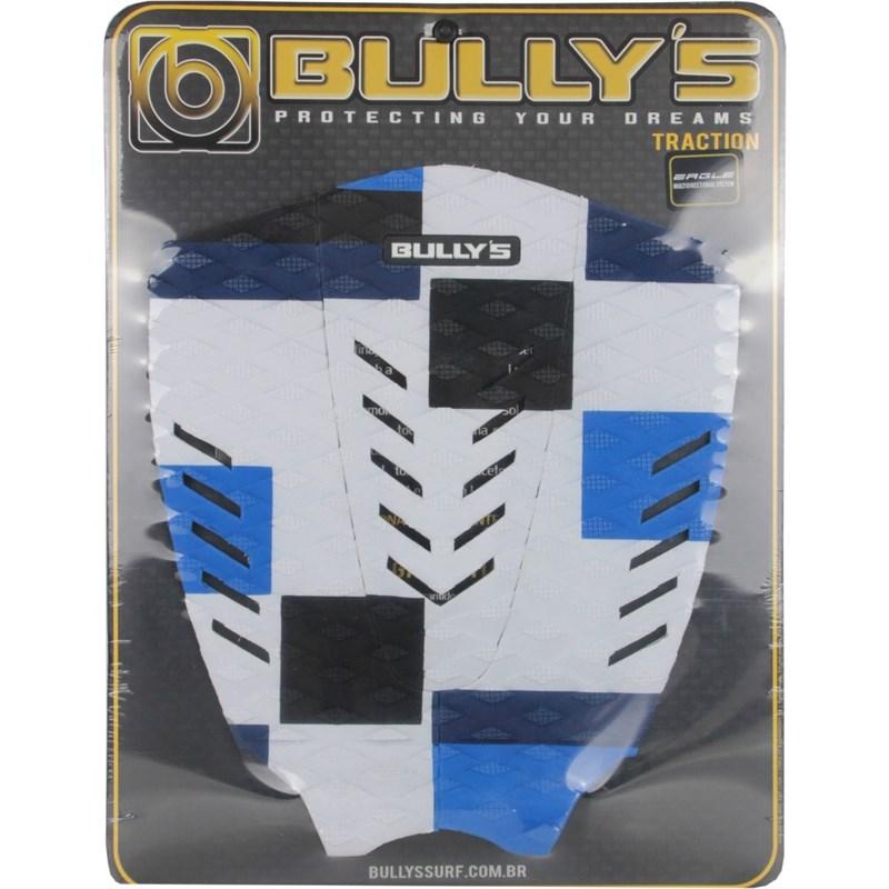 Deck Antiderrapante Bully's Eagle Branco Azul e Preto