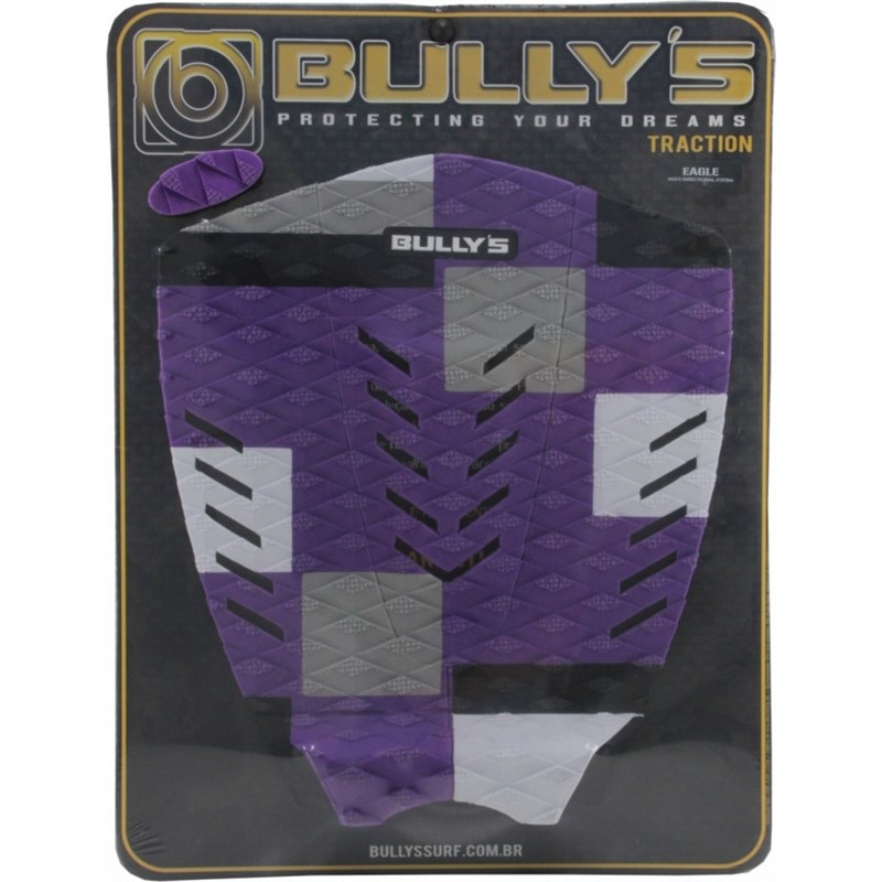 DECK ANTIDERRAPANTE BULLY'S EAGLE PURPLE WHITE