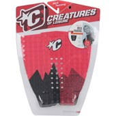 DECK ANTIDERRAPANTE CREATURES MICK FANNING BLACK RED