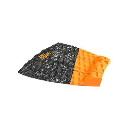 Deck Antiderrapante Pro-Lite Blade Tail Preto e Laranja