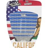 Deck Antiderrapante Sticky Bumps Stripes Cinza e Azul