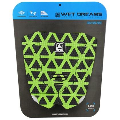 Deck Antiderrapante Wet Dreams CNC Progressive Verde e Preto