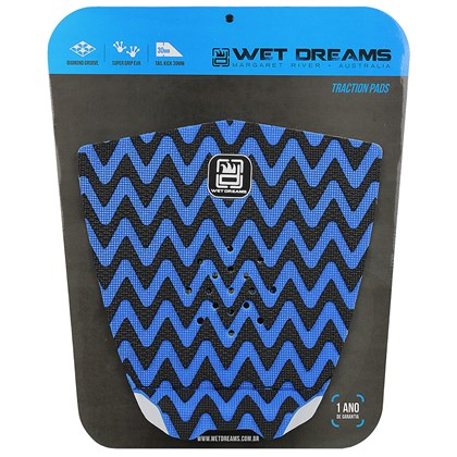 Deck Antiderrapante Wet Dreams CNC Sky Azul e Preto