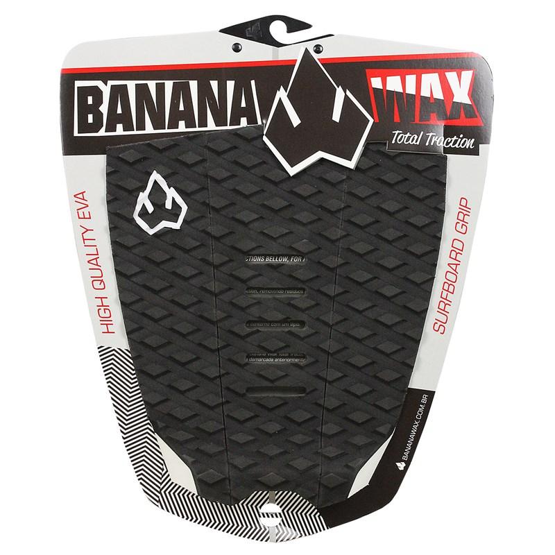 Deck para Prancha de Surf Banana Wax Original Logo Preto