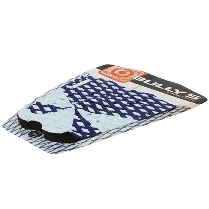 Deck para Prancha de Surf Bully´s Pro Model Nakagima Azul e Branco