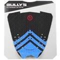 Deck para Prancha de Surf Bully's F-15 Preto e Azul