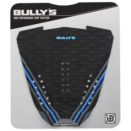 Deck para Prancha de Surf Bully's Italo Ferreira Cinza Azul e Preto