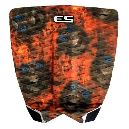 Deck para Prancha de Surf Elite Surfing Freak Fire Skull