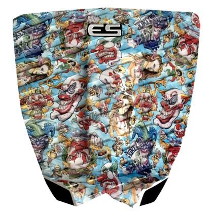 Deck para Prancha de Surf Elite Surfing Freak Print Clown