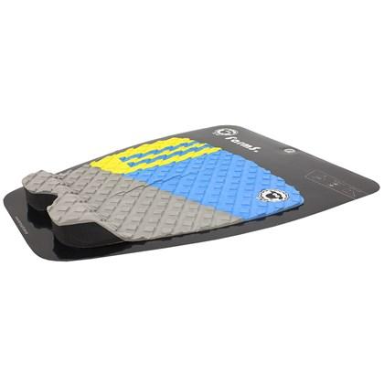 Deck para Prancha de Surf Farms Hammer 2A Amarelo Azul e Cinza