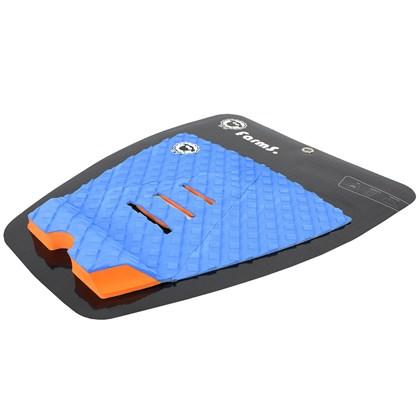 Deck para Prancha de Surf Farms Hammer 3C Azul e Laranja