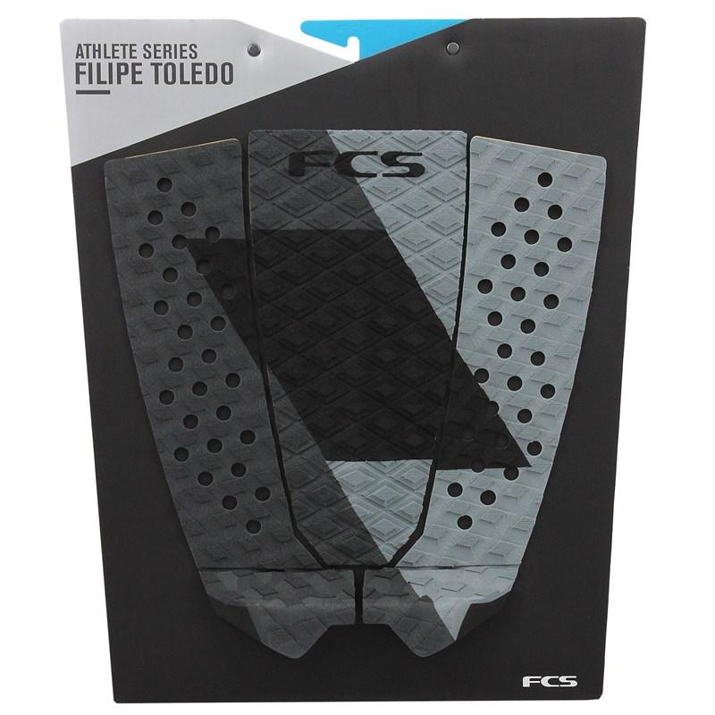 Deck para Prancha de Surf FCS Filipe Toledo Coal