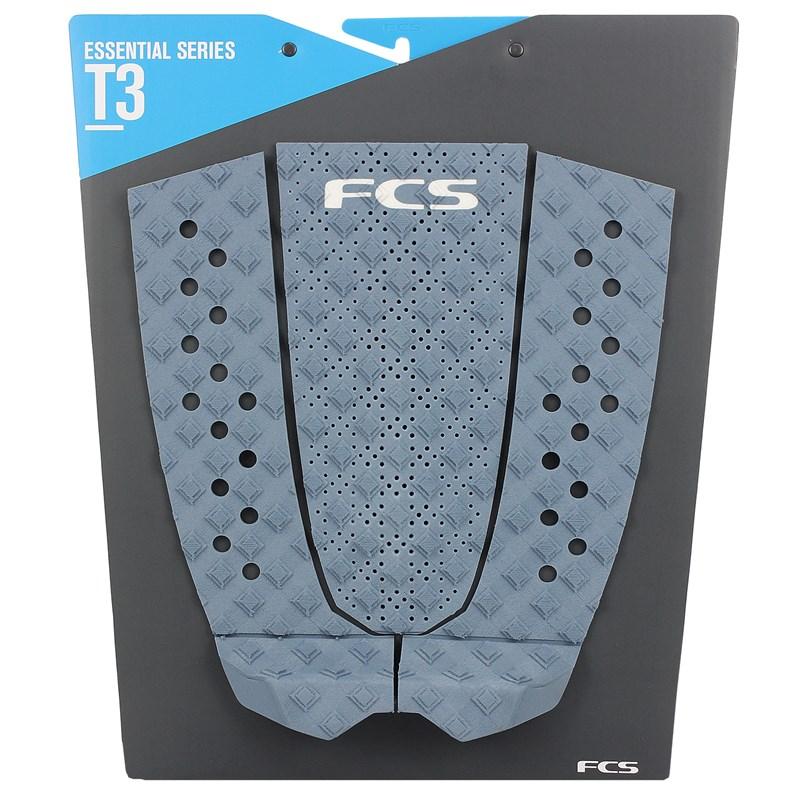 Deck para Prancha de Surf FCS T3 Dusty Blue