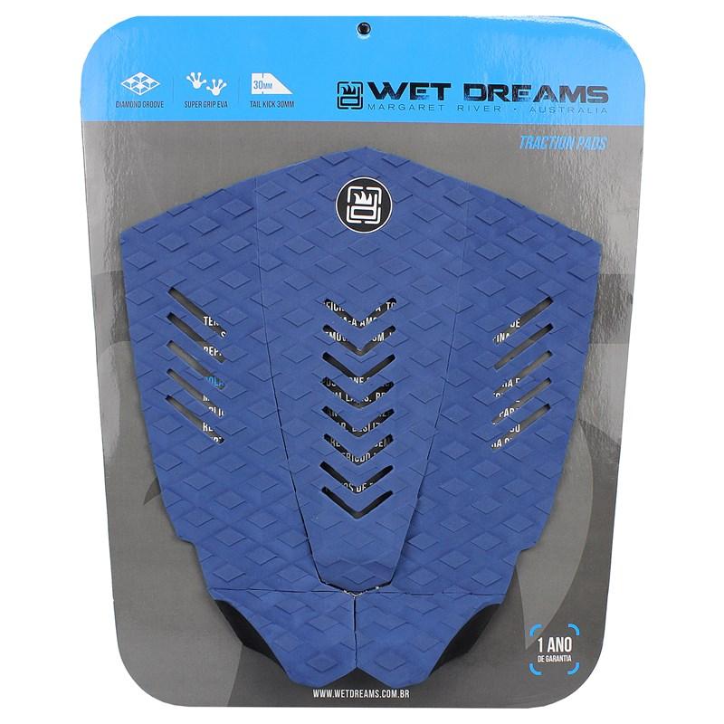 Deck para Prancha de Surf Wet Dreams Surf Attack Azul