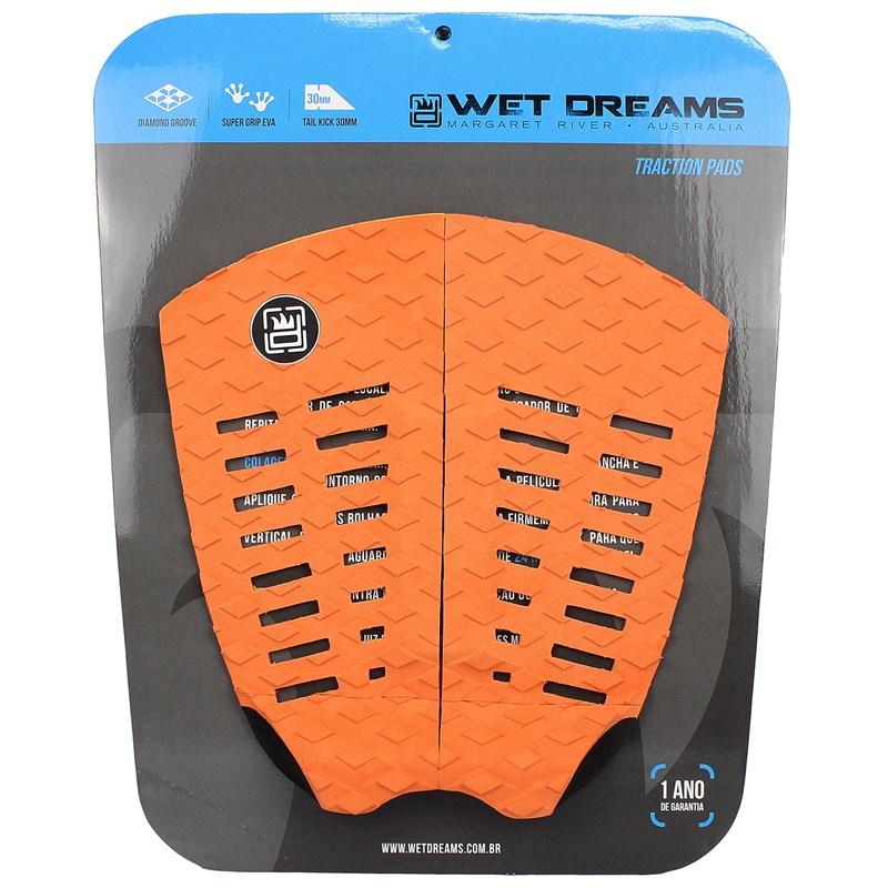 Deck para Prancha de Surf Wet Dreams Twin Laranja